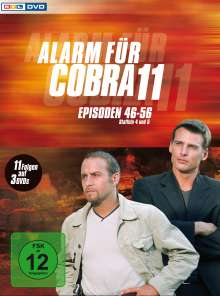 Alarm für Cobra 11 Staffeln 4 & 5, 3 DVDs