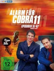 Alarm für Cobra 11 Staffeln 6 & 7, 3 DVDs
