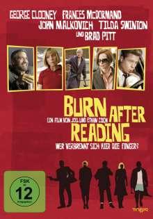 Burn After Reading - Wer verbrennt sich hier die Finger?, DVD