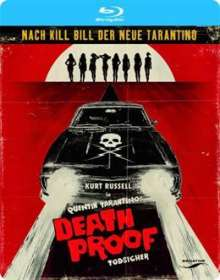 Death Proof - Todsicher (Blu-ray), Blu-ray Disc