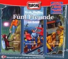 Fünf Freunde (Box 010) - Fünf Freunde an Bord, 3 CDs