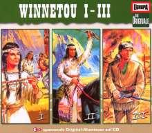 Die Originale - 3er Box Winnetou, 3 CDs