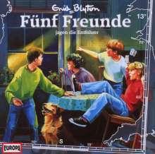 Fünf Freunde (Folge 013) jagen die Entführer, CD