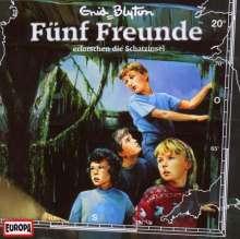 Fünf Freunde (Folge 020) erforschen die Schatzinsel, CD