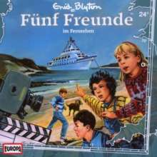 Fünf Freunde (Folge 024) im Fernsehen, CD