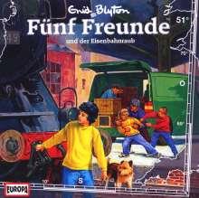 Fünf Freunde (Folge 051) und der Eisenbahnraub, CD