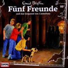 Fünf Freunde (Folge 088) und das Gespenst von Canterbury, CD