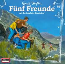 Fünf Freunde (Folge 092) und die Insel der Seeräuber, CD