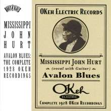 Mississippi John Hurt: Avalon Blues: The Complete 1928 Okeh Recordings, CD