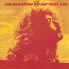 Carlos Santana & Buddy Miles: Carlos Santana & Buddy Miles Live!, CD