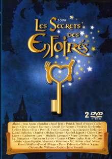 Les Secrets Des Enfoires 2008, 2 DVDs