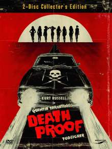 Death Proof - Todsicher (Special Edition), 2 DVDs