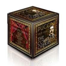 Giacomo Puccini (1858-1924): Complete Opera Edition, 20 CDs