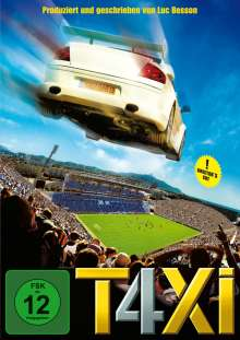 Taxi 4, DVD