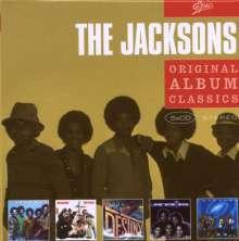 The Jacksons (aka Jackson 5): Original Album Classics, 5 CDs