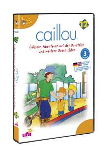 Caillou Vol.12, DVD