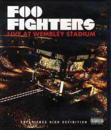 Foo Fighters: Live At Wembley Stadium 2008 (Blu-ray), Blu-ray Disc