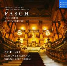 Johann Friedrich Fasch (1688-1758): Concerti, CD