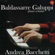 Baldassare Galuppi (1706-1785): 8 Klaviersonaten, CD