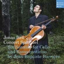 Jean-Baptiste Barriere (1707-1747): 6 Sonaten für Cello & Bc, SACD