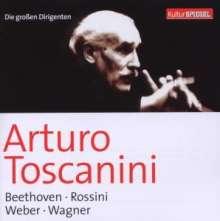 Die großen Dirigenten (KulturSpiegel) - Toscanini, 2 CDs