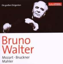 Die großen Dirigenten (KulturSpiegel) - Walter, 2 CDs
