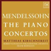 Felix Mendelssohn Bartholdy (1809-1847): Klavierkonzerte Nr.1 & 2, 2 CDs