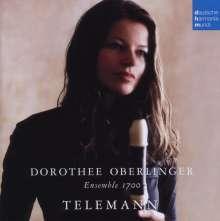 Georg Philipp Telemann (1681-1767): Kammermusik mit Blockflöte, CD
