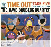 Dave Brubeck (1920-2012): Time Out (50th-Anniversary-Legacy-Edition), 3 CDs