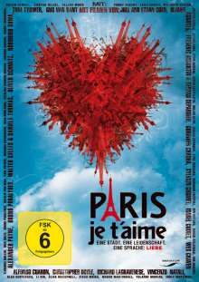 Paris je t'aime, DVD