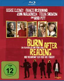 Burn After Reading (Blu-ray), Blu-ray Disc