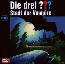 Die drei ??? (Folge 140) - Stadt der Vampire, CD
