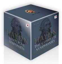 Joseph Haydn (1732-1809): Symphonien Nr.1-104, 37 CDs