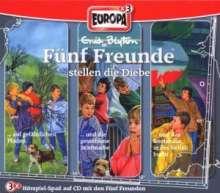 Fünf Freunde (Box 012) - Fünf Freunde stellen die Diebe, 3 CDs