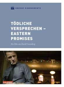 Tödliche Versprechen (Große Kinomomente), DVD