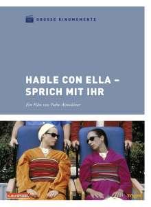 Sprich mit ihr (Große Kinomomente), DVD