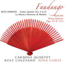 "Luigi Boccherini (1743-1805): Gitarrenquintett Nr.4 G.448 ""Fandango"", Super Audio CD"