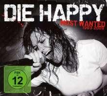 Die Happy: Most Wanted (CD + 2DVD), CD