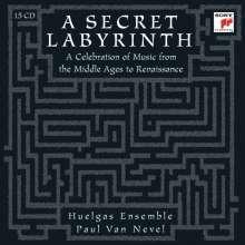A Secret Labyrinth - Musik vom Mittelalter zur Renaissance, 15 CDs