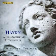 Joseph Haydn (1732-1809): Symphonien Nr.41-47,50-52,64,65,82-90, 7 CDs