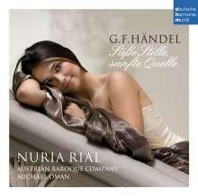 """Georg Friedrich Händel (1685-1759): Neun Deutsche Arien """"Süße Stille, sanfte Quelle"""", CD"""