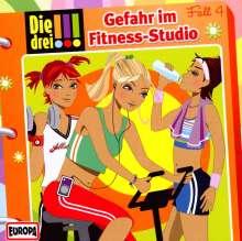 Die drei !!! Fall 04 - Gefahr im Fitness-Studio, CD