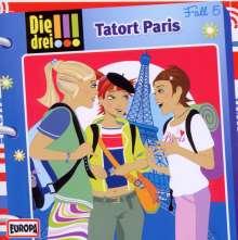 Die drei !!! (Fall 05) - Tatort Paris, CD