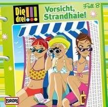 Die drei !!! Fall 08 - Vorsicht, Strandhaie!, CD