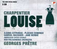 Gustave Charpentier (1860-1956): Louise, 3 CDs