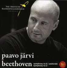 Ludwig van Beethoven (1770-1827): Symphonien Nr.2 & 6, SACD