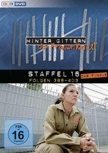 Hinter Gittern Staffel 16 (Finale), 4 DVDs
