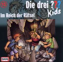 Ulf Blanck: Die drei ??? Kids (Folge 13) - Im Reich der Rätsel, CD
