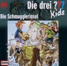 Die drei ??? Kids 20: Die Schmugglerinsel, CD