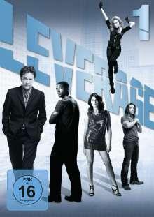 Leverage Season 1, 3 DVDs